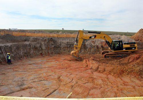 Construction has begun